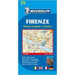 25. Firenze térkép Michelin 1:10 000