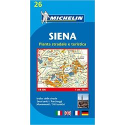 26. Siena térkép Michelin 1:8 000