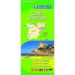 148. Costa Daurada térkép Michelin 1:150 000