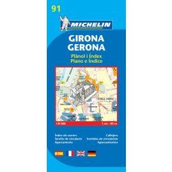 Girona plan térkép  9091. 1/9,000