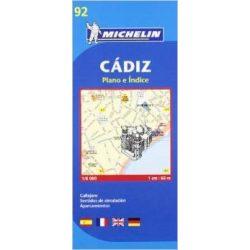 92. Cádiz térkép Michelin 2014 1:6 000