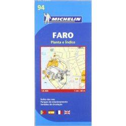 94. Faro térkép Michelin  1:6 000