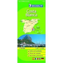 123. Costa Blanca térkép Michelin 1:130 000