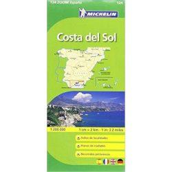 124. Costa del Sol térkép Michelin 1:200 000