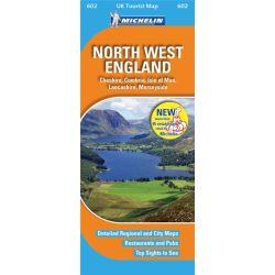 North West England térkép  0602. 1/400,000