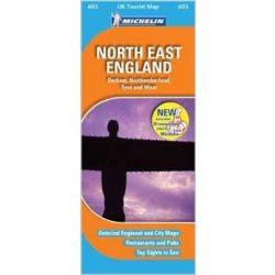 603. North East England térkép Michelin 1:400 000