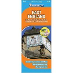 610. East England térkép Michelin 1:400 000