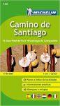 160. Camino de Santiago térkép Michelin 2015 1:150 000