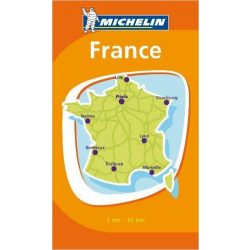 Mini-Map France térkép  8721. 1/1,000,000