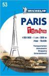 53. Párizs térkép  0053. 1/20,000