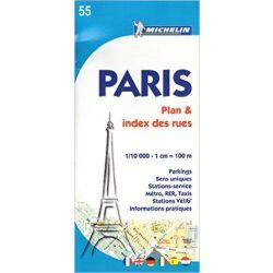 55. Párizs térkép Michelin 1:10 000