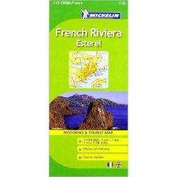 115. French Riviera térkép Michelin 1:100 000