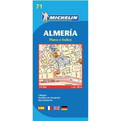 71. Almeria plan térkép  9071. 1/10,000