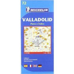 Valladolid plan térkép  9072. 1/9,000