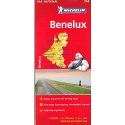 714. Benelux államok térkép Michelin 1:400 000