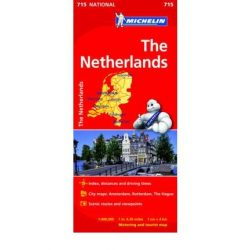 715. Hollandia térkép Michelin 1:400 000