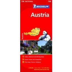 730. Ausztria térkép Michelin 1:400 000