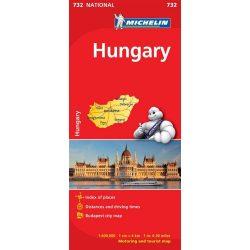 Hungary térkép  0732. 1/400,000