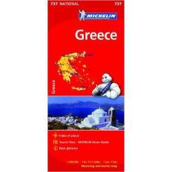 737. Görögország térkép Michelin 1:1 700 000