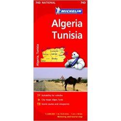 743. Algéria, Tunézia térkép Michelin 1:1 000 000