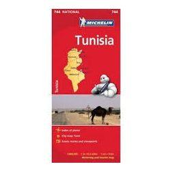 744. Tunézia térkép Michelin 1:600 000