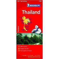 751.Thaiföld térkép Michelin  1:1 370 000