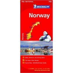 752. Norvégia térkép Michelin  1:1 250 000  2015