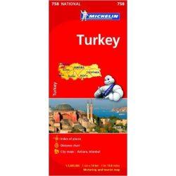 758. Törökország térkép Michelin 1:1 000 000