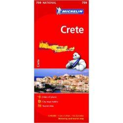 759. Kréta térkép Michelin 1:140 000  Crete térkép