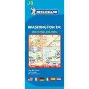 10. Washington D.C. térkép Michelin 1:12 000