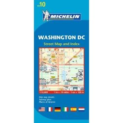 10. Washington D.C. térkép Michelin 2012   1:12 000