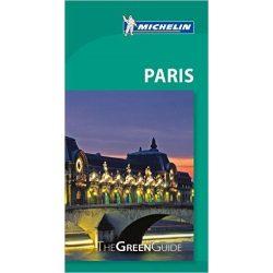 Paris útikönyv angol Green Guide  1355.