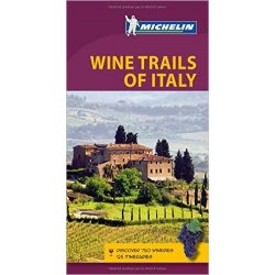 Wine Trails of Italy útikönyv angol Green Guide  1500.