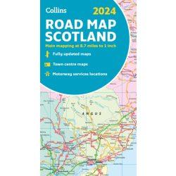 501. Skócia térkép Michelin 1:400 000  Scotland térkép 2017