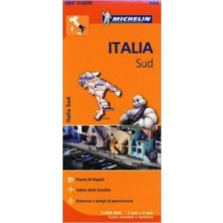564. Dél-Olaszország térkép Michelin 1:400 000