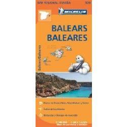 579. Baleares térkép  0579. 1/140,000
