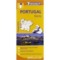 591. Észak-Portugália térkép Michelin 1:300 000  2017