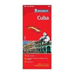 786. Cuba, Kuba térkép Michelin 1:800 000