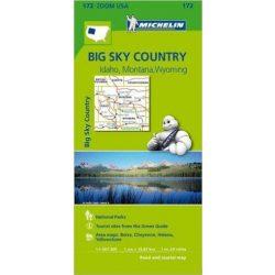 172. Big Sky Country térkép Michelin 2013 1: 1267 200