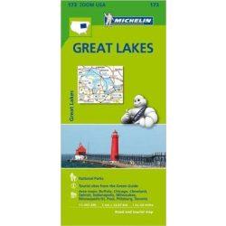 173. Great Lakes térkép Michelin  1:500 000