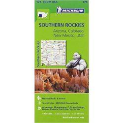 175. Southern Rockies térkép Michelin 2014 1:1 267 200