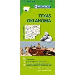 176. Texas térkép Michelin 2014 1:1 267 200