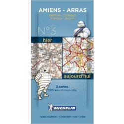 Amiens - Valenciennes térkép  8003. 1/200,000