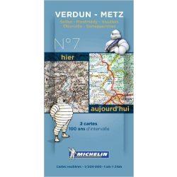 Metz térkép  8007. 1/200,000