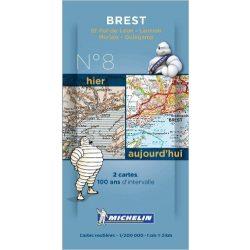 Brest térkép  8008. 1/200,000
