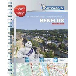 Benelux államok atlasz Michelin 1:150 000 2017