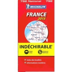 France  térkép High Resistance 2015  0792. 1/1,000,000