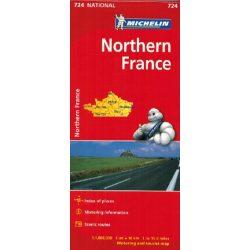 724. Észak-Franciaország térkép Michelin  1:1 000 000