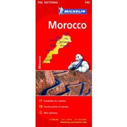742. Marokkó térkép Michelin 1:1 000 000