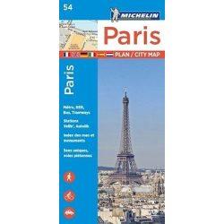 54. Párizs térkép Michelin 1:10 000  2017
